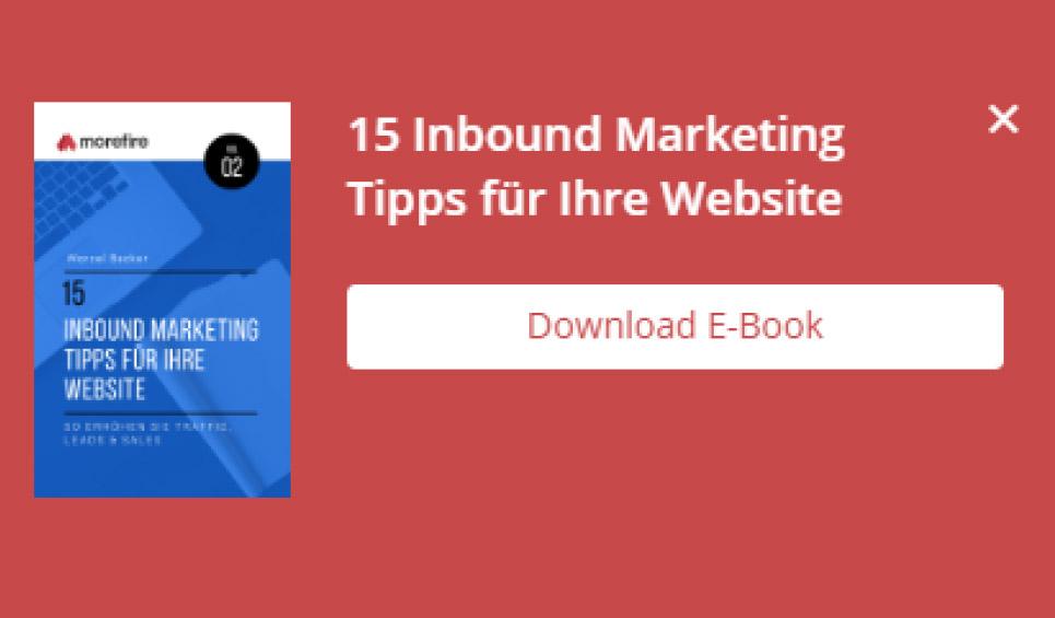 15 Inbound Marketing Tipps für Ihre Webseite