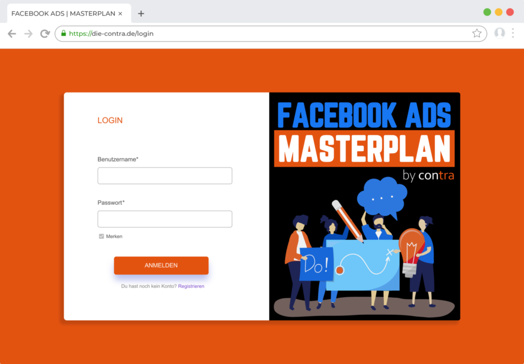 Facebook Ads Masterplan Login