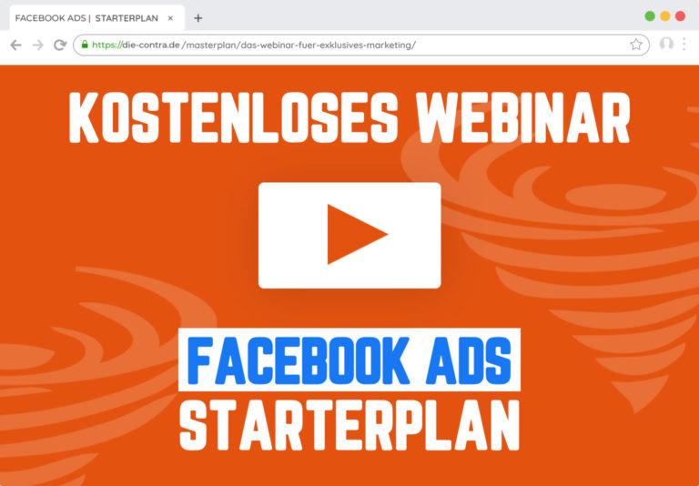 Bild des Facebook Ads Starterplans