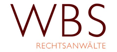 Bild des WBS Rechtsanwälte Logos